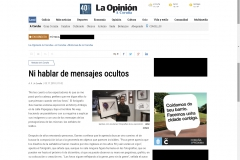 articulo no way la opinion